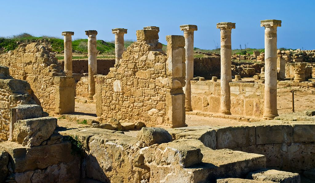 Archaeological Park in Paphos, Cyprus.