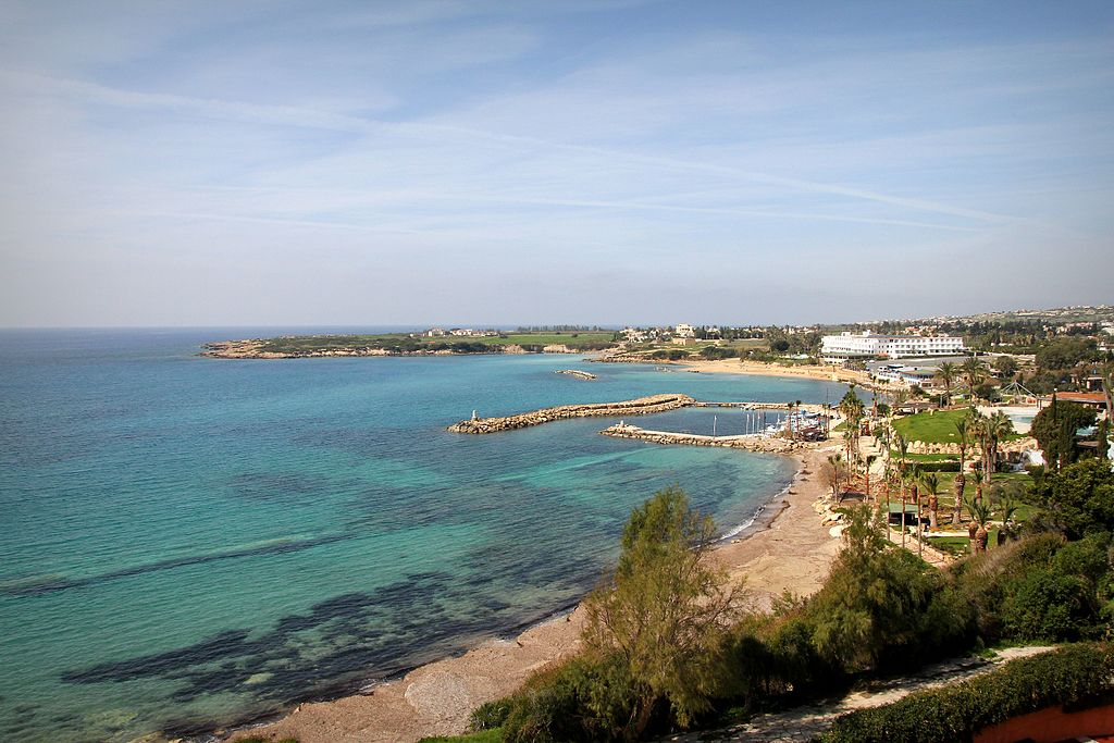 Coral Bay near Paphos, Cyprus