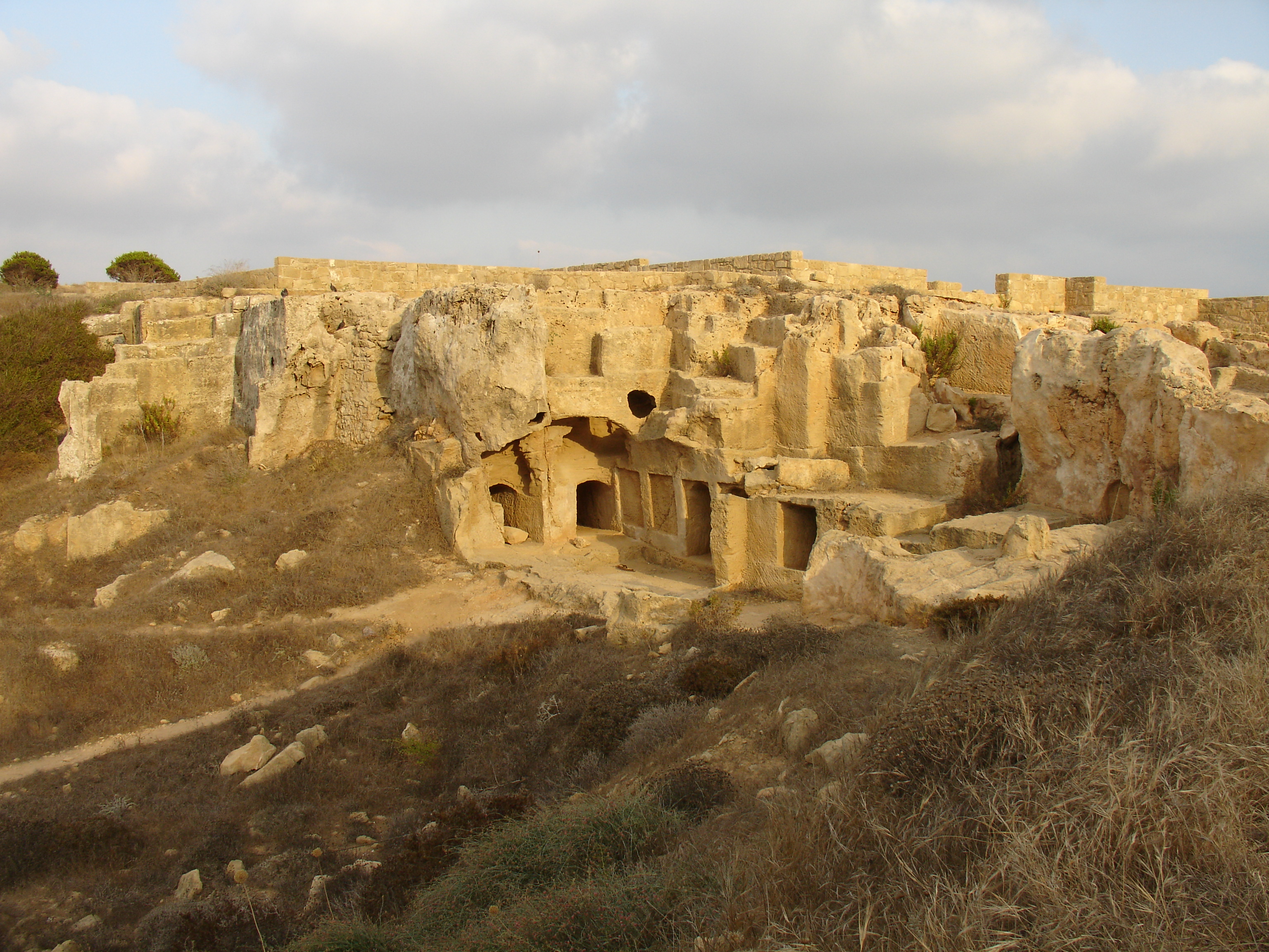Tomb of the Kings, Paphos.