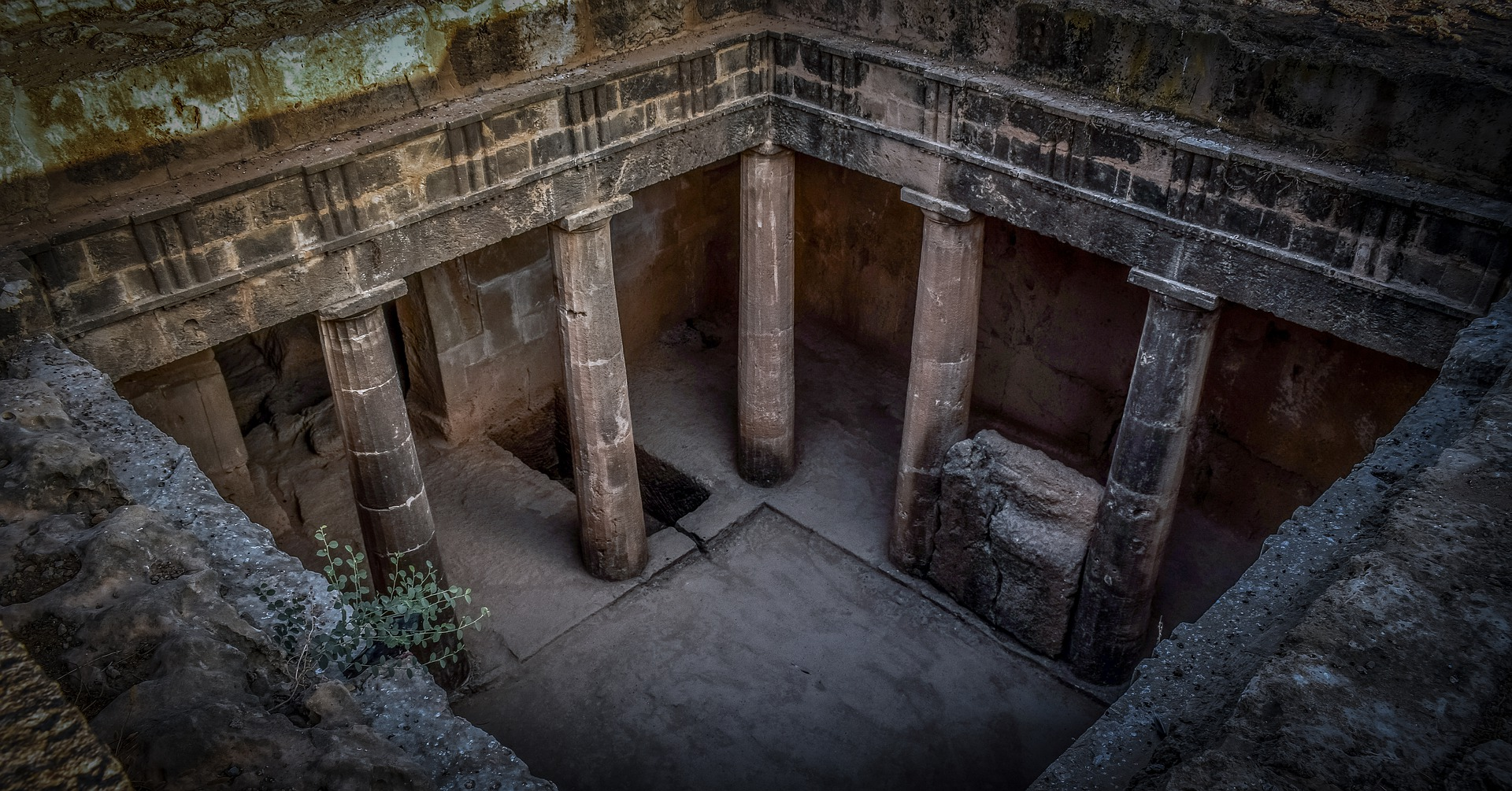 King Tombs, Paphos, Cyprus